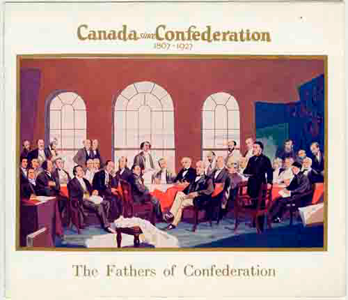 canadian confederation Canadian confederation (french: confédération canadienne) was the process by which the british colonies of canada, nova scotia, and new brunswick were united into one dominion of canada on july 1, 1867.